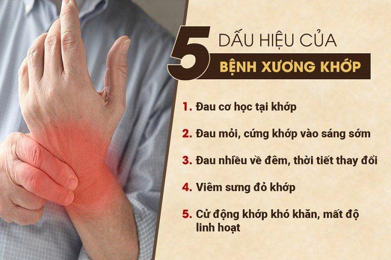 thông tin về bệnh xương khớp
